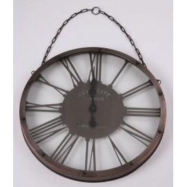 Часы на цепи черные (без стекла) 61x5,5cm 180012 Dyyk