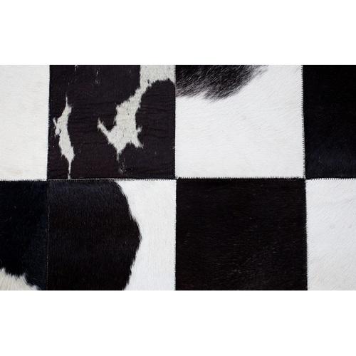 Ковер Rodeo черно-белый 195x140cm (Z37444) Invicta