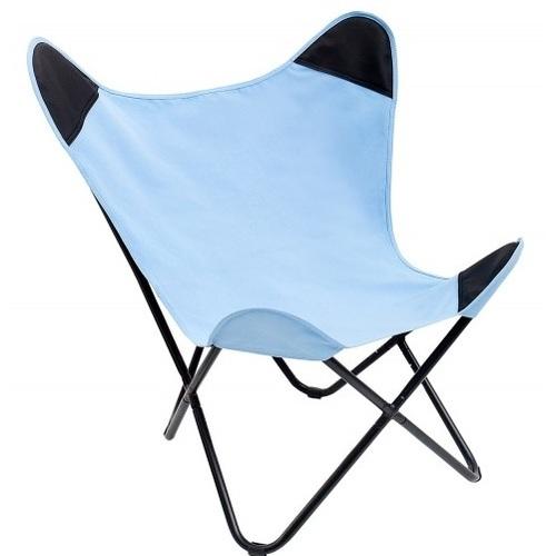 Кресло бабочка Butterfly 85cm (Z37181) голубое Invicta