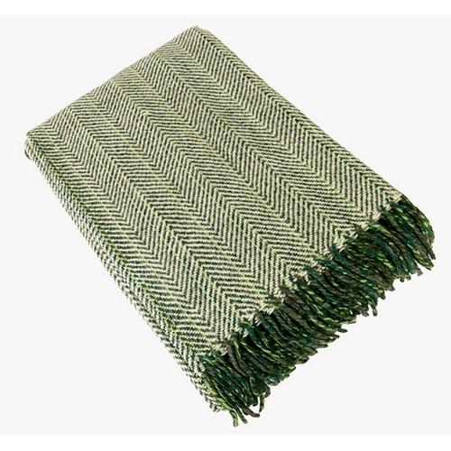 Плед 140x200cm зеленый 351008 Dyyka