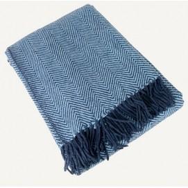 Плед 140x200cm голубой 3510082 Dyyka