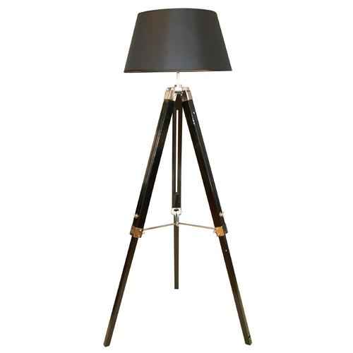 Лампа напольная 146x54cm черная 60591 Dyyka