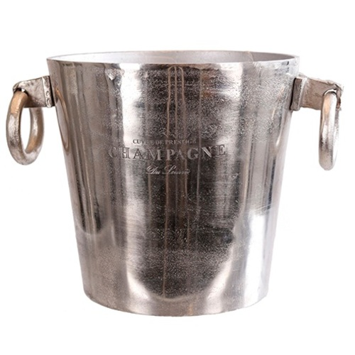 Ведро для шампанского 23,5x22cm серебро 607403 Dyyk