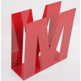 Газетница 30x30x10cm красная 329006 Dyyk