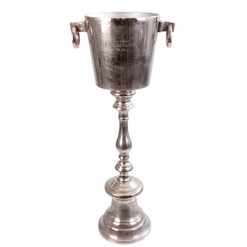 Подставка под шампанское 84x23,5cm серебро 607404 Dyyk