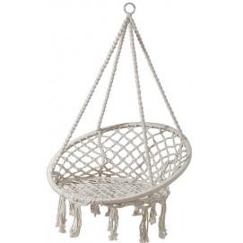 Кресло подвесное 82x115x138cm белое 17000 Dyyk
