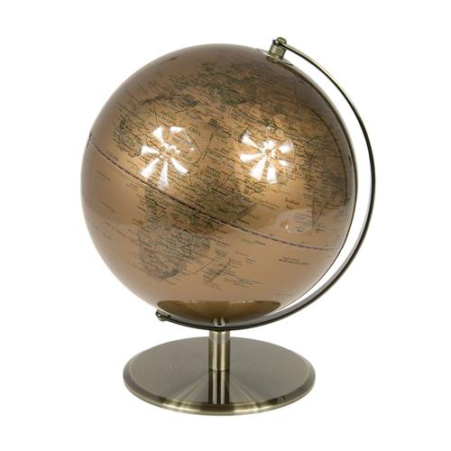 Глобус h32cm медь 684024 Dyyk