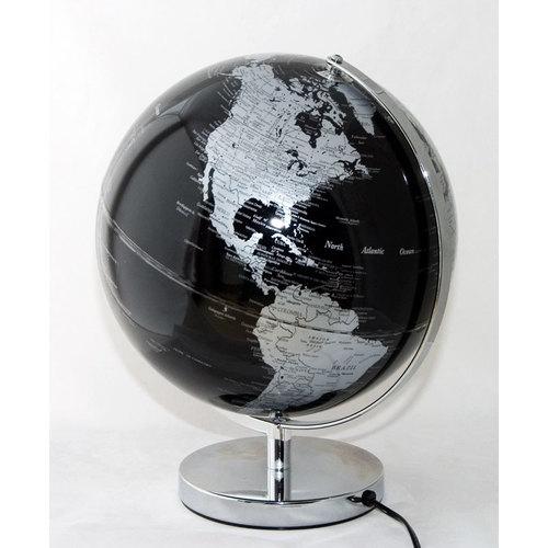 Глобус 30cm серебро 684027 Dyyk