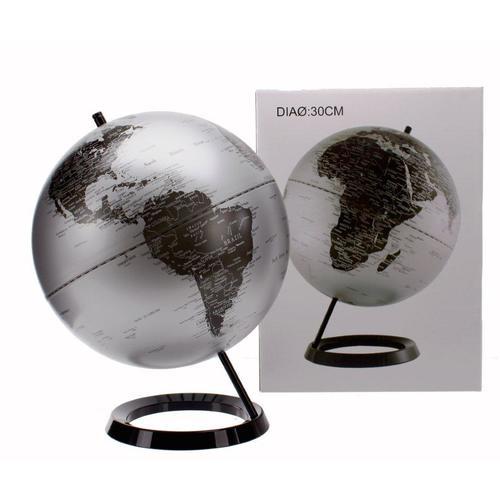 Глобус 30cm серебро 684035 Dyyk
