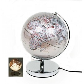Глобус 25cm серебро 684010 Dyyk