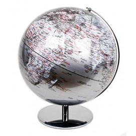 Глобус 42,5cm серебро 684006 Dyyk