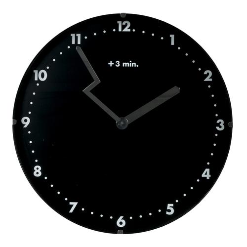 Часы 30cm черные 6210041 Dyyk