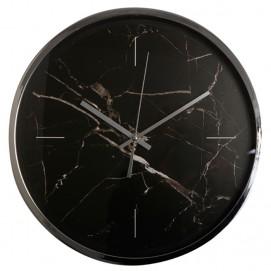 Часы 35.5X35.5X5.5 см черные 83589 Dyyk с браком