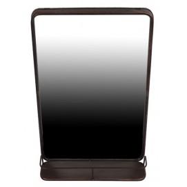 Зеркало 80x50cm черное 180009 Dyyk