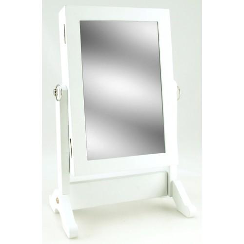 Зеркало напольное 40x26x19 см белое 61924 Dyyk