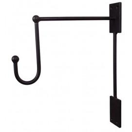 Крючок 26x5x30cm черный 1717020 Dyyk