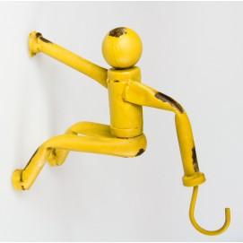 Крючок 23x18x9cm желтый 7730013 Dyyk