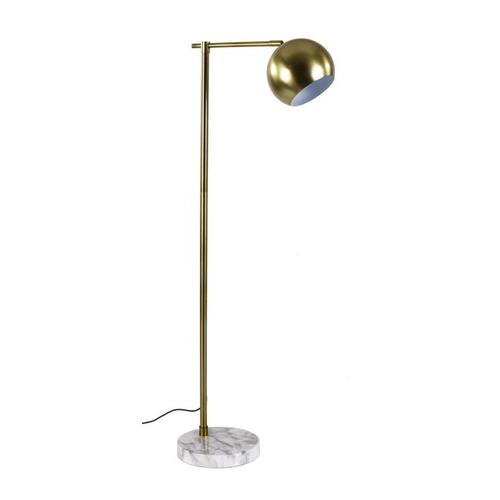 Лампа напольная 142x42x25cm золото 1623201 Dyyk