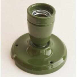 Спот керамический зеленый X-ed
