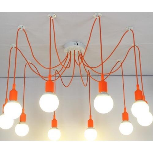 Люстра паук COLORFUL SPIDER оранжевая X-ed