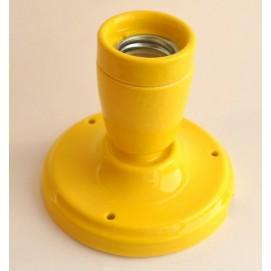 Спот керамический желтый X-ed