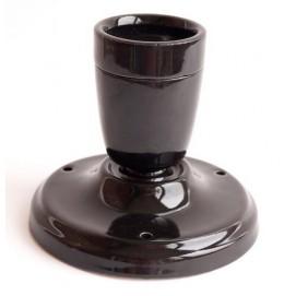 Спот керамический черный X-ed