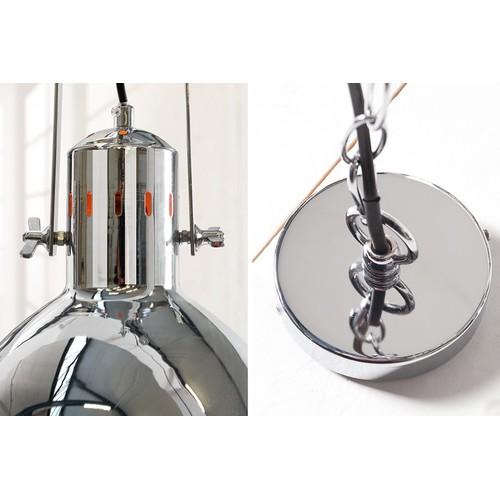 Лампа подвесная Factory II 40cm 36850 хром Invicta