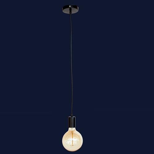 Лампа шнур 7527120-1 BK черная Thexata