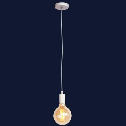 Лампа шнур 7527120-1 WH белая Thexata