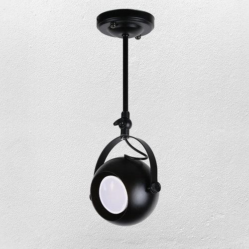 Прожектор 7521209-1A BK черный GU10 Thexata