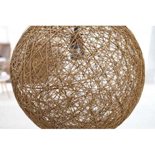 Лампа подвесная Cocoon 35 см коричневая 35792 Invicta