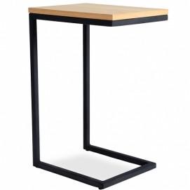 Стол приставной ARON натуральный+черный Huzz