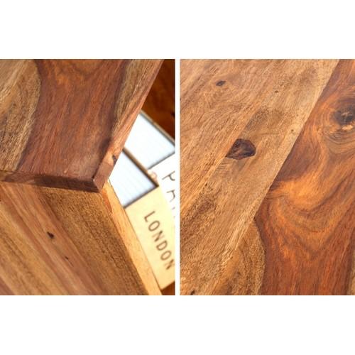 Полка Makassar II 45cm натуральная 35862 Invicta