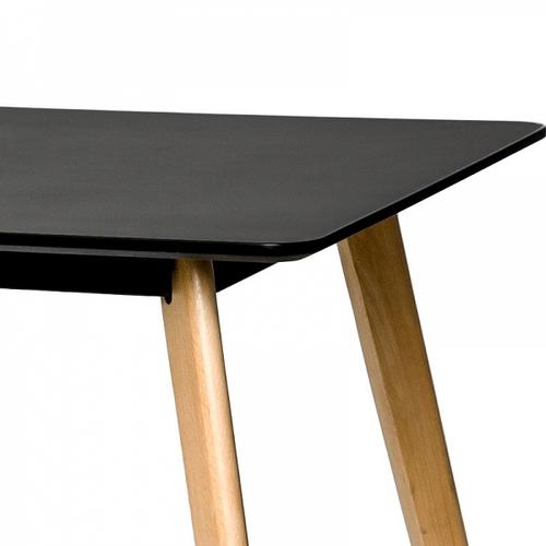 Стол обеденный 120 см MARCELO A черный Huzz