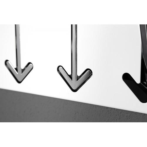 Вешалка Arrow 5er белая / 20581 Invicta