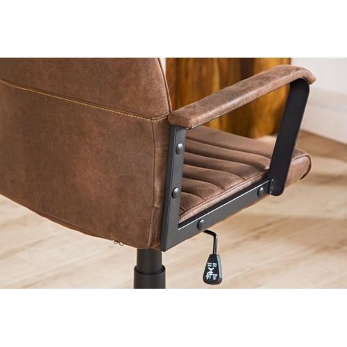 Кресло офисное Lazio High 60cm (37075) коричневое Invicta