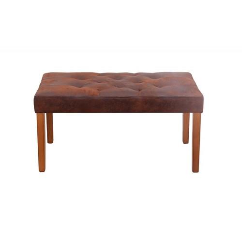 Банкетка Cambridge 90cm коричневая / 37432 Invicta