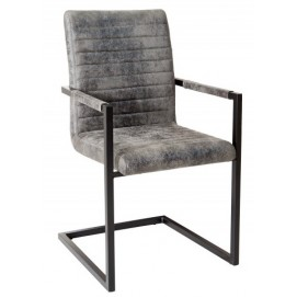 Кресло офисное Imperial Vintage темно-серое 37261 Invicta