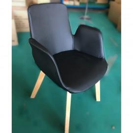 Кресло Country черный кожзам Primel