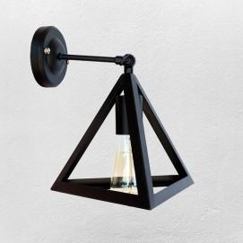 Светильник настенный 756W220F-1 BK черный Thexata