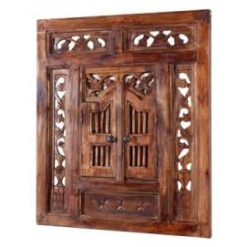 Зеркало ставни Secret Window 70cm коричневое 36633 Invicta