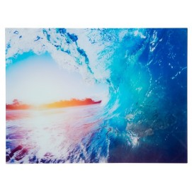 Картина Wave 60x80cm голубая Glas/ 37411 Invicta