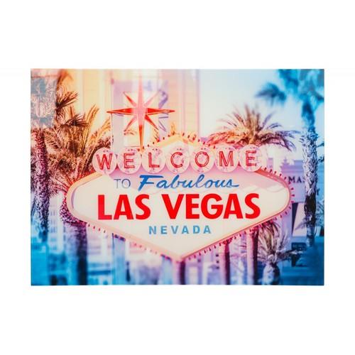Картина Las Vegas 60x80cm Glas/ 37406 цветная Invicta