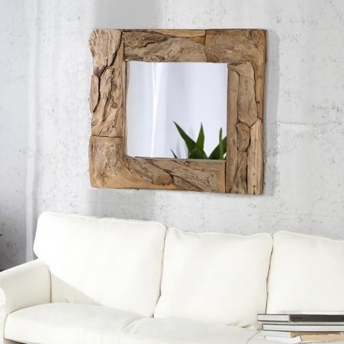 Зеркало Sands 50cm коричневое 22490 Invicta