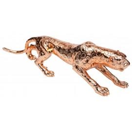 Статуэтка Leopard 80cm 37133 золото Invicta