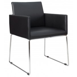 Кресло Livorno Struktur черное 37846 Invicta