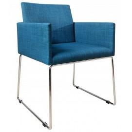 Кресло Livorno Struktur голубое 37850 Invicta