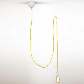 Лампа подвесная Паук 17511 желтая N&B LIGHT