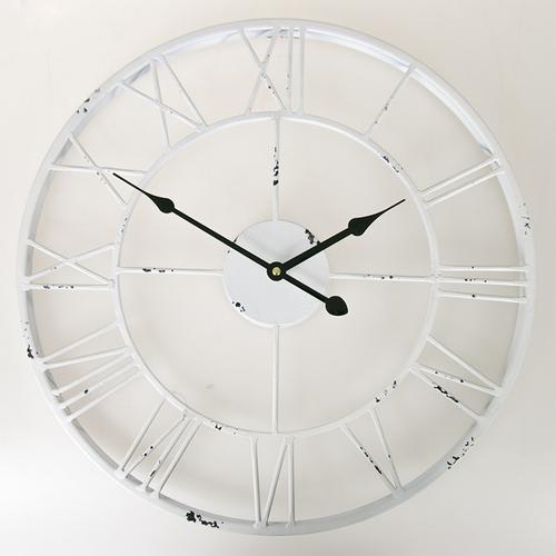 Часы 45 см Factory 943090 белые Dyyk