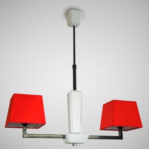 Люстра Атланта 14105 красная N&B LIGHT